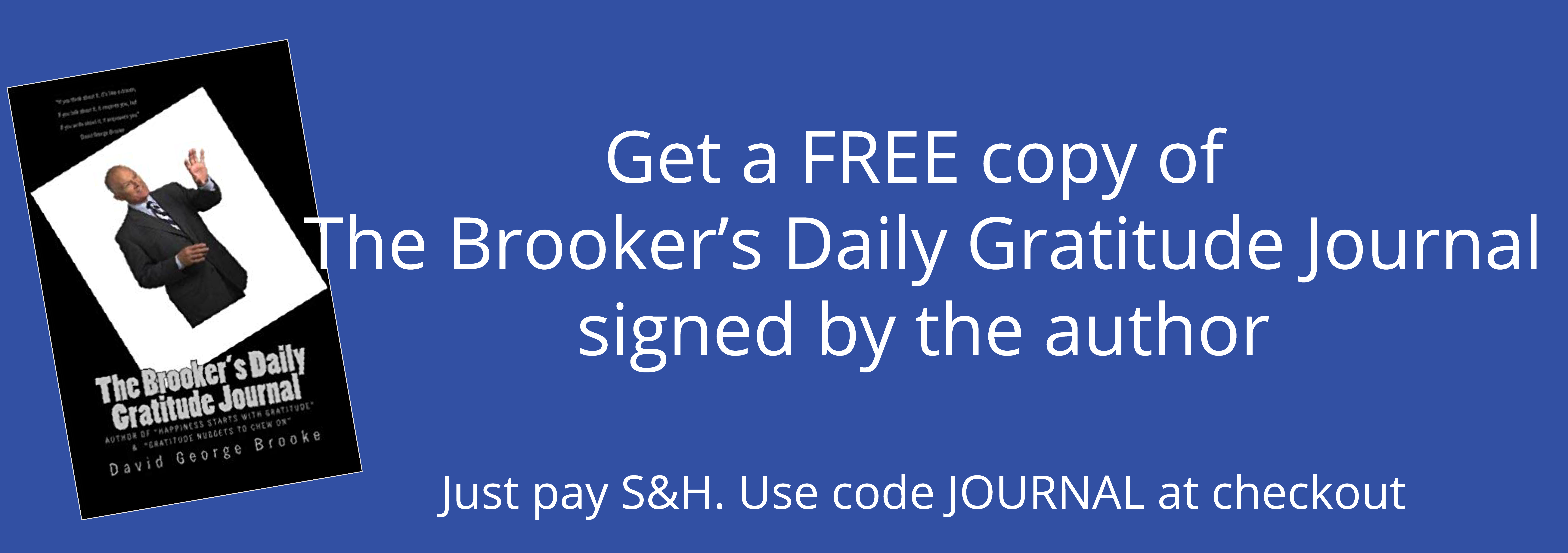 free journal banner